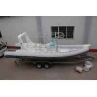 Buy cheap Double Bottom Offshore Inflatable Boats With Motor Fast Response Rough Weather from wholesalers