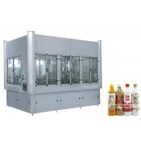 Buy cheap Hot Beverage Filling Machine Fruit Juice Plastic Bottle Washing Filling Capping Machine 3 In 1 Unit from wholesalers