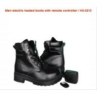 Wholesale 2200mAh Li-polyer Battery Men Electrically Heated Boots with remote controller and charger from china suppliers