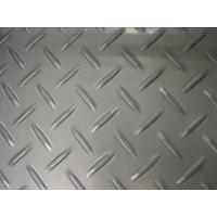 Wholesale AISI, ASTM, JIS 304 2B / No.1 Stainless Steel Chequered Plate / Floor Plate / Tear Plate Pressed Type For Bridges from china suppliers