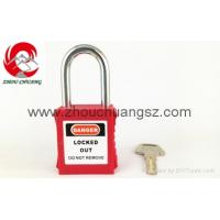 Quality ZC-G01 Red Best quality padlocks Safety steel lockout XENOY SAFETY PADLOCK for sale