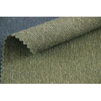 Buy cheap Green Color Woven Cloth Reversible Summer Weight Wool Fabric For Jackets from wholesalers