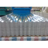 Wholesale 29 Gauge Aluminum Corrugated Roof Panels / Roofing Sheet Easy Installation from china suppliers