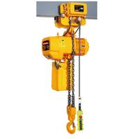 Wholesale Alloy Steel Electric Chain Block Hoist For Industry , F Insulation 2t 10t 35t Capacity from china suppliers