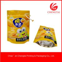 Wholesale CMYK / Pantone Color Pet Food Use Stand Up Packaging Pouches With Zipper Lock from china suppliers