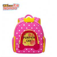 Wholesale Lovely Pumpkin Angel Design Kids Hiking Backpacks , Fashion School Bags With Dots from china suppliers