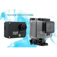 Wholesale Outdoor Wifi Helmet Racing 1080P Action Camera for Extreme Sports / Driving / Ride Shooting from china suppliers