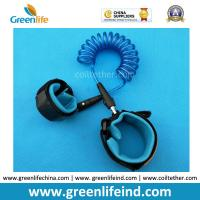 Wholesale Losting Protection Baby Walking Safety Felxi Elastic Blue Lanyard Tether from china suppliers