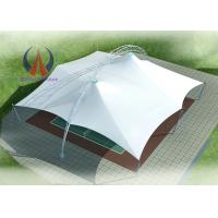 Wholesale Membrane Cloth Roofing Sports Field Stand Alone Shade Structures For School Playgrounds from china suppliers