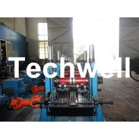Wholesale C Section Channel Roll Forming Machine with Gearbox Drive for Making Steel C Purlin from china suppliers