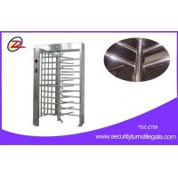 Wholesale Remote Control Single Lane Type Full Height Turnstile CE Approved from china suppliers
