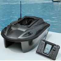Buy cheap JL01A Black Remote Control RC Fishing Baitboat Compass Bait boat from wholesalers