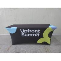 Quality Full Printed Advertising Flag Banners Large Branded Table Cloth for sale