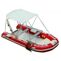 Wholesale 25HP Motor Inflatable Fishing Boats Rigid Hull Inflatable Boats 3.5 Meter Length from china suppliers