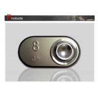 Wholesale 44 x 83 mm Elevator Push Button With Long Service Life / Lift Braille Button SN-PB124 from china suppliers