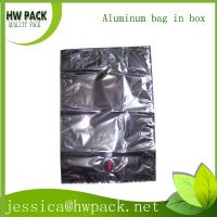Wholesale 10L aluminum metalized FDA bag in box from china suppliers