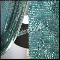 Wholesale Fashion Design Decorative Metal Sequin Fabric,Metal Sequin Cloth from china suppliers