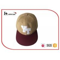 Wholesale Cotton 3D Embroidery 6 Panel custom snapback caps for adults , bucket hat for boys from china suppliers