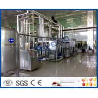 Wholesale 1000 - 8000LPH UHT Milk Processing Line 200 - 500ml Aseptic plastic Pouch Package from china suppliers