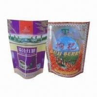 Wholesale Stand-up Pouches with Top Zipper, Special Used for Food, Pet Food and Medicine Packaging from china suppliers