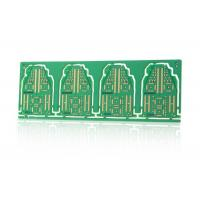 Wholesale Electronic Controller Green Double Sided PCB with V Cut / Stamp Holes Routing Outline from china suppliers