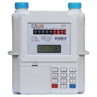 Wholesale Aluminum Material Smart STS Keypad Meter , Prepay Gas Meter Low Credit Warning from china suppliers