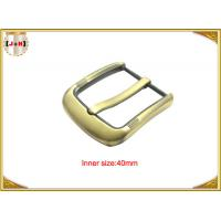 Wholesale Fashion Gold Pin Style Metal Belt Buckle Environmental Electroplate from china suppliers