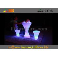 Wholesale Portable Bar Tables With 5V Voltage , Colors change LED Bar Furniture from china suppliers