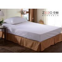 Wholesale Polyester Fabric Elastic Bed Skirts Dust Ruffles For Home / Hotel from china suppliers