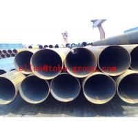 Wholesale Round Welded Stainless Steel Tubing , ASTM A554 Large Dimaer Water Pipe from china suppliers