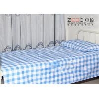 Wholesale Easy Clean Hospital Bed Sheet Striped Fitted Bed Sheets OEM / ODM Accept from china suppliers