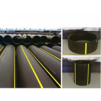 A heat docking or fused connection polyethylene PE gas pipe fittings