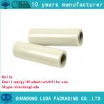 Wholesale heißer verkauf billige stretchfolie lldpe stretchfolie Standard hand geben stretchfolie 17 Mikrofon from china suppliers