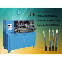 Wholesale Blue High Efficiency Wire Tinning Machine Full-automated For Soldering from china suppliers