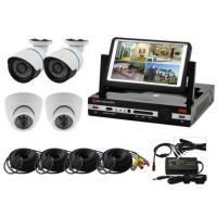 "Quality Economic H 264 Wireless Security Camera System dvr cctv camera kit with 7"" LCD Monitor for sale"