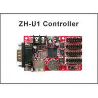 China 5V ZH-U1 programmable led display control system RS232+USB port single color:1024*32;672*48 dule color 512*32,320*48 on sale