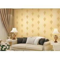 Buy cheap Economical Durable European Concise Interior Room Wallpaper For TV / Sofa Backgroud from wholesalers