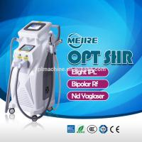 Wholesale OPT SHR IPL RF Machine 4 in 1 1064nm Wavelength Bipolar RF Technology from china suppliers