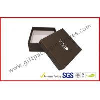 Wholesale Embossed Apparel Gift Boxes Paper Wrapping Box Silver Logo Moisture Proof from china suppliers