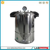 Wholesale Test Autoclave Steam Sterilizer Accelerated Aging Chamber 18L Industrial Vertical 50-128 ℃ from china suppliers