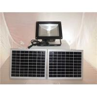 Buy cheap Solar Led Flood lamp Waterproof Home Garden landscape Outdoor wall Spotlight Lighting from wholesalers