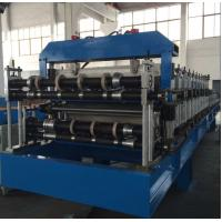 Wholesale Double Layer Sheet Metal Forming Equipment , Metal Roofing Roll Forming Machine Manual Decoiler from china suppliers