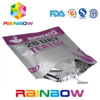 Wholesale Food Grade Plastic Pouches Packaging Mylar Ziplock Laminated Tea Packing Bag from china suppliers