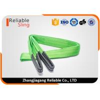 Wholesale 60mm 2 Ton Green Flat Webbing Sling With Safety Factor 7 times from china suppliers