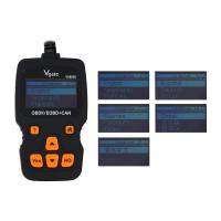 Wholesale Vgate VS890 Updated Version VS890S OBD2 Scanner Auto Code Reader Multi-language OBDII OBD2 Car Diagnostic Tool from china suppliers
