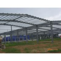 Wholesale Pre Engineered Steel Structure Hangar , Steel Pipe Truss Airport Hangar Construction from china suppliers