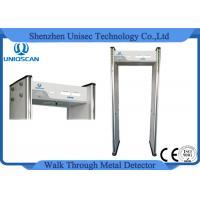 Wholesale Multi Zones Door Frame Metal Detector , Walk Through Security Scanners from china suppliers