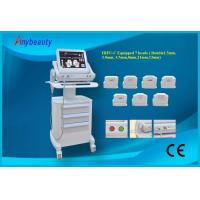 Wholesale Double Treatment Heads Hifu Machine For Wrinkle Removal 15'' Color Touch Screen from china suppliers