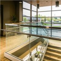 Wholesale Top Selling glass garden balustrade with Aluminum base shoe from china suppliers