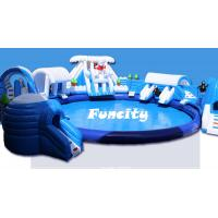 Wholesale Custom Size Giant Inflatable Water Park Equipment On Land For Amusement Park from china suppliers